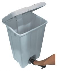 LIXEIRA 30L PLASTICA RESISTENTE COM PEDAL