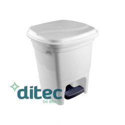 LIXEIRA 15L PLASTICA C/ PEDAL