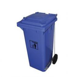 LIXEIRA PLASTICA COM PEDAL 240L